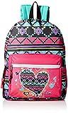 Trailmaker Girls' Heart Light up Backpack, Pink