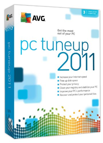 AVG 2011 PC Tuneup 3-User