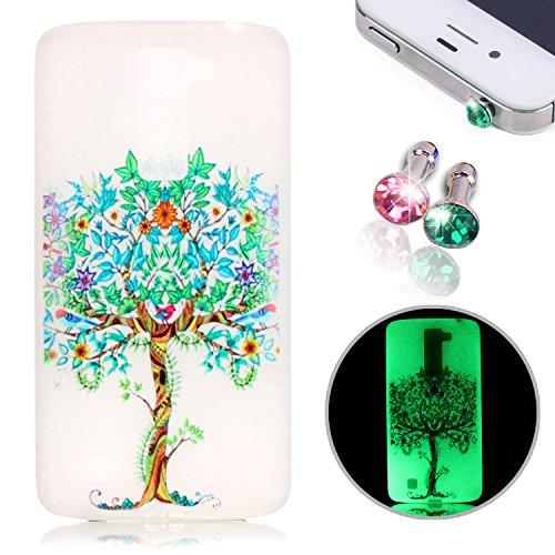 pesrhoo-phone-case-lg-k10-case-soft-tpu-scrub-luminous-protective-back-cover-colorful-printing-anti-
