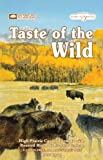 Taste of the Wild Dry Dog Food, Hi Prairie Canine Formula with Roasted Bison & Venison, 15-Pound Bag