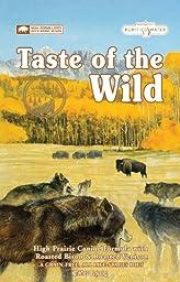 Taste of the Wild Dry Dog Food, Hi Prairie Canine Formula with Roasted Bison & Venison, 15-Pound Bag