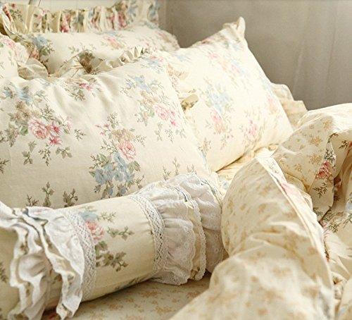 Fadfay Home Textile Vintage Floral Print Bedding Set