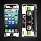 Apple iPhone 5 Skin cover- MixTape- Cassette graphic- ip5mixtape