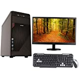 "3YRS WARRANTY DESKTOP WITH QUAD CORE CPU / 2GB RAM/ 320GB HDD / ATX CABINET WITH 18.5"" LED DESKTOP PC COMPUTER"
