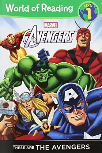 These Are the Avengers Level 1 Reader (Marvel Heroes of Reading - Level 1)