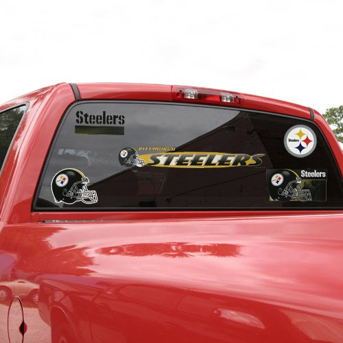 "Pittsburgh Steelers 11"" x 17"" Jumbo Ultra Decal Set from Wincraft"