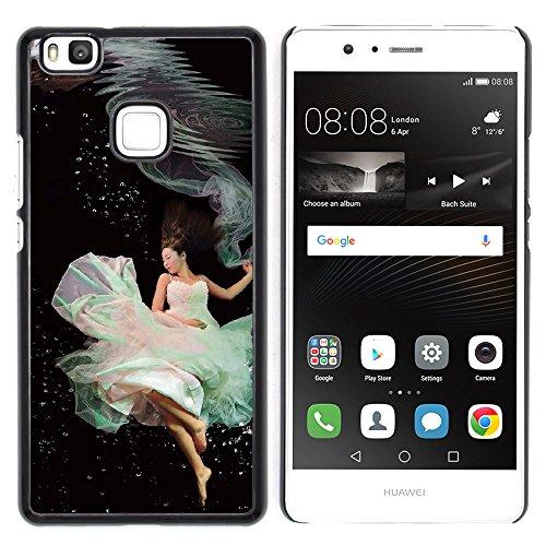 Huawei P9 Lite / G9 Lite (Not for P9)Huawei P9 Lite / Huawei G9 Lite (Not for P9) , Cassa Cover Guscio Di Plastica (Underwater Ballerini)