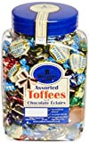 Office Snax OFX94054 Walkers Assorted Royal Toffees, Reclosable Candy Tub, 2.75-Pound Tub