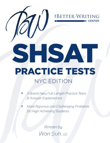 SHSAT Practice Tests: NYC Edition
