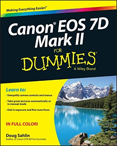 Canon EOS 7D Mark II For Dummies (Canon 7d Mark Ii For Dummies compare prices)