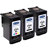 2x Canon PG-540XL & 1x CL-541XL Ink Cartridges Remanufactured (Black & Colour, High Capacity) for use with Canon Pixma MX375 MX395 MX435 MX455 MX475 MX515 MX525 MX535 Printers by Ink Trader