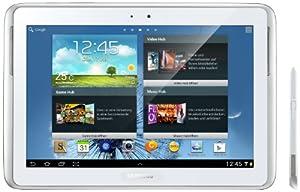 Samsung Galaxy Note 10.1 GT-N8000ZWADBT WiFi + 3G (25,7 cm (10,1 Zoll) Tablet (Quad-core, 1,4GHz, 16GB interner Speicher, 5 Megapixel Kamera, Android 4.0) white