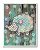 The Kids Room by Stupell Distressed Woodland Porcupine Rectangle Wall Plaque
