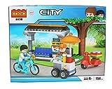 #8: Tickles Cogo City Building Blocks Models 154 Pcs(Blue)