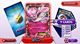 DIANCIE EX XY43 (PROMO) 140HP XY05 Primal Clash - Optimized THUNDERBOLT booster cards - 10 English Pokemon trading cards