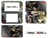 Vanknight Vinyl Decals Skin Sticker Zelda Link for the New Nintendo 3DS XL 2015