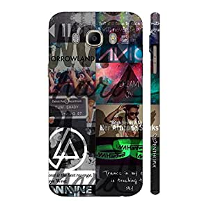 Enthopia Designer Hardshell Case FOR MUSIC LOVERS Back Cover for Samsung Galaxy J7( 2016)