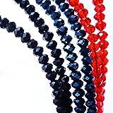 スピネル仕様 多面カットストーン メンズ&レディース ユニセックス チョーカー ネックレス(アジャスター調整付き)4mm幅 【選べる3カラー/ブラック・メタルブルー・レッド】