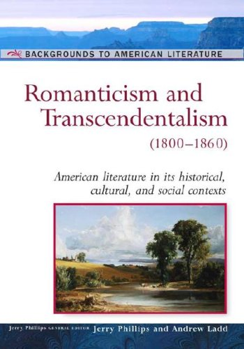 the relation of romanticism and transcendentalism in william bryants thanaptosis