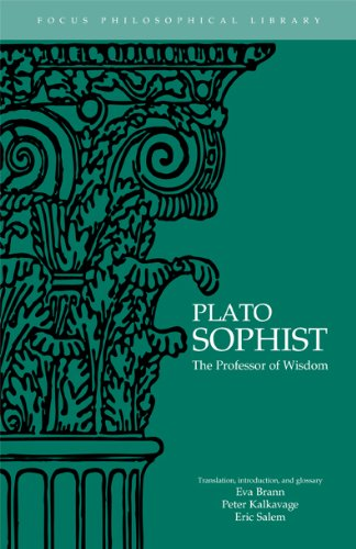 Plato  Sophist The Professor of Wisdom Focus Philosophical Library094105196X : image