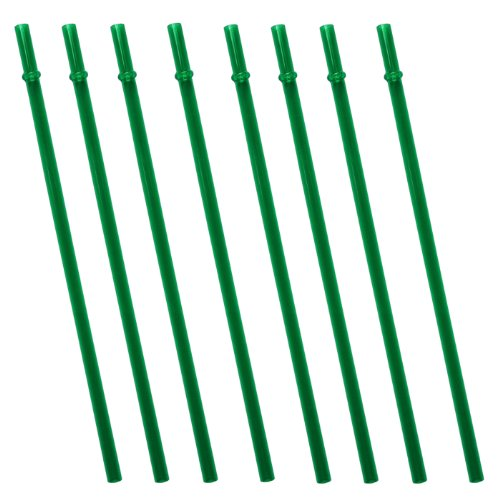 Dark Green Replacement Acrylic Straw Set Of 8, For Tumblers 16Oz, 20Oz, 24Oz