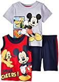 Disney Baby-Boys  3 Piece Mickey Short Set