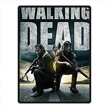 Fung mo Supersoft coperta Walking Dead coperta in pile per letto/divano 147,3x 203,2cm