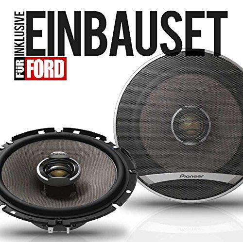 PIONEER 165mm Auto-Koax-Boxen / KFZ-Front-Lautsprecher 180WATT für Ford Transit