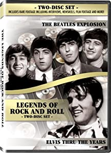 Beatles Explosion w/ Bonus Elvis Documentary