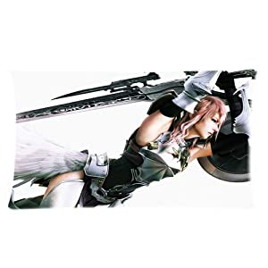 Final Fantasy Custom Rectangle Pillow Cases 20x36 (two side)
