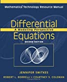 img - for Differential Equations, Mathematica Technology Resource Manual: A Modeling Perspective book / textbook / text book