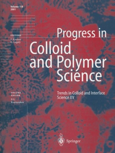 Trends In Colloid And Interface Science Xv (Progress In Colloid And Polymer Science) (Volume 118)