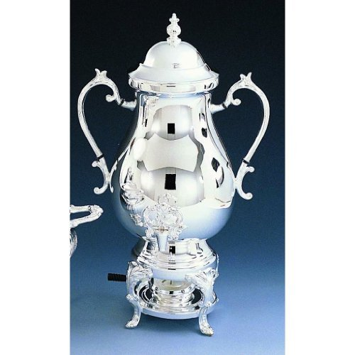 Elegance Silver 89725 Silver Plated Coffee Urn, 50 Cup (Silver Plated Coffee Urn compare prices)