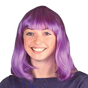 Neon Purple Wig Case Pack 5 Neon Purple Wig Case Pack 5