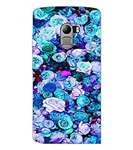 PrintDhaba Flowers D-2088 Back Case Cover for LENOVO K4 NOTE A7010a48 (Multi-Coloured)
