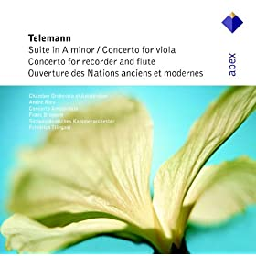 Telemann : Suite for Recorder & Strings in A minor TWV55, a2 : I Overture
