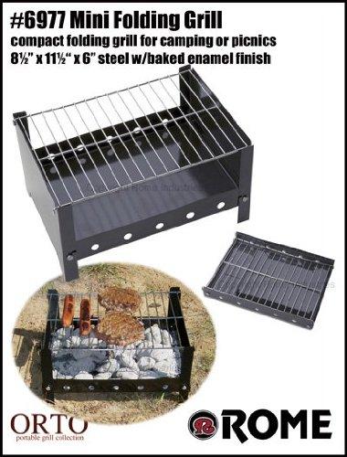 Rome Industries 6977 Mini Folding Grill front-492093