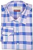 Urban League Men's Formal Shirts (UL051-Large, Multi-Colored, Large)
