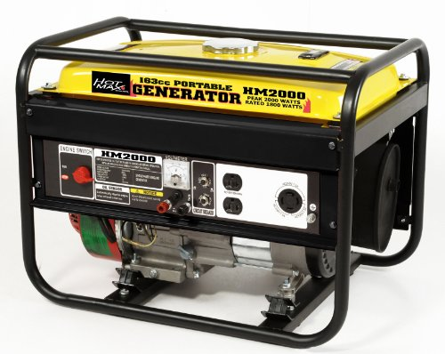 Hot Max HM2000 Rated 1800-Watt 2000 Watt Portable Generator Hot Max B005UUQOSM