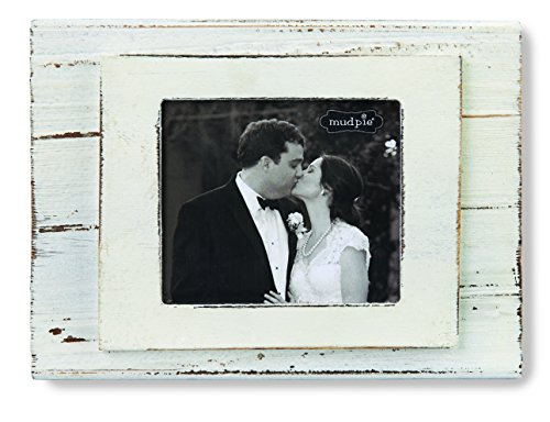 Mud Pie Frame, Cream Block