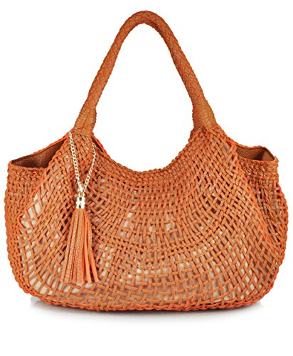 sr-squared-by-sondra-roberts-woven-hobo-shoulder-bag-camel-orange