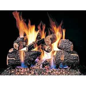 Emberglow Lanier Oak 24 in. Vented Gas Log Set LO24NG – Compare