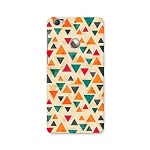 ArtzFolio Vintage Triangle : LeTV Le 1s Matte Polycarbonate ORIGINAL BRANDED Mobile Cell Phone Protective BACK CASE COVER Protector : BEST DESIGNER Hard Shockproof Scratch-Proof Accessories