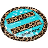 Zone Tech Cheetah Steering Wheel Cover with Shoulder Pad