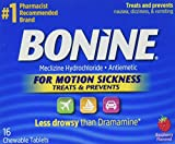 3M Bonine Motion Sickness Tablets-raspberry-16 Ct., 16 Count