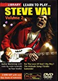 echange, troc Lick Library - Learn to Play Steve Vai Volume 2 [Import anglais]