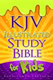 img - for KJV Illustrated Study Bible for Kids, Hardcover book / textbook / text book