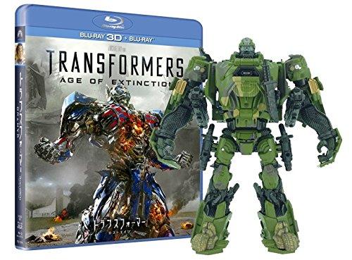 【Amazon.co.jp限定】 トランスフォーマー/ロストエイジ ハウンド アーミーカモVer. 3D&2DブルーレイBOX(3枚組)(3000個限定) [Blu-ray]
