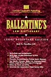 Ballentine's Law Dictionary: Legal Assistant Edition