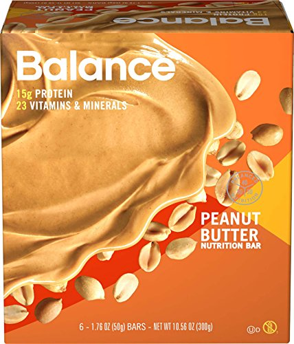 Balance Bar Peanut Butter, 6 count Value Pack (Balance Energy Bars compare prices)